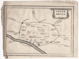 Map of Thebes