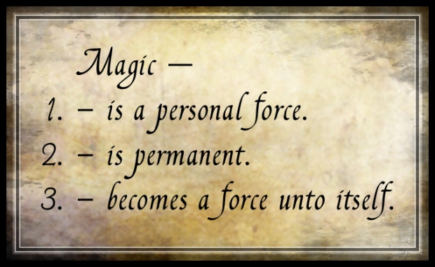 Laws of Magic